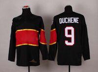 olympic hockey jerseys - 2014 Sochi Olympic Hockey Jersey Matt Duchene Black Ice Hockey Jerseys