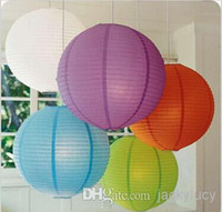 "Cheap New Arrival 12""(30cm)Chinese Paper Lanterns With LED Lights Multi Color Christmas Ornaments Lantern For Wedding Party Decoration Supplies"