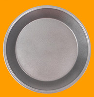 Wholesale Carbon steel round pizza pan non stick baking oven pizza baking pans cake mold baking tray