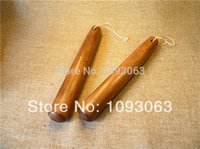 Wholesale Solid Natural Wood Flour Rolling Pin Korean Household Wood Stick Smooth Surface