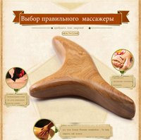 acupuncture feet - Camphor wood triangle bird foot massage acupuncture point stick foot massage scraping pull bar