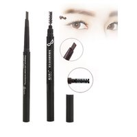 auto eye brow pencil - Colors Drawing Eyebrow Pencil Eye Liner Pen Waterproof Auto Eye Brow Pencil Brush Enhancer Permanent Eyes Makeup Tools Cosmetic