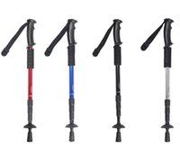 Wholesale Outdoor Alpenstock Ultralight Straight Shank Aluminum trekking poles Walking stick Elderly Walking stick B1212