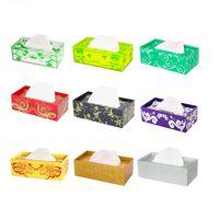 acrylic tissue box - Xu Jiong product acrylic square stylish living room European style tissue box tissue box multicolor rectangular tissue box