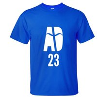 anthony davis - Anthony Davis Cotton T shirts short Sleeve O Neck basketball sport Tops fashion men clothing Tees Clothes