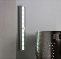 Wholesale 10 LED Wireless Motion Sensing Closet Cabinet LED Night Light Stairs Light Step Light Bar