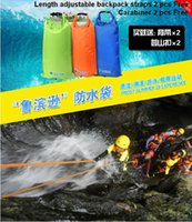 Wholesale River sea lake trekking rafting swimming lifebuoy floating stooge rafting bags outdoor waterproof life jacket no leakage water top quality