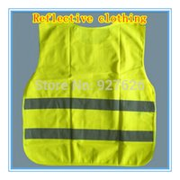Wholesale Reflective vest Reflective fabric reflective material Police reflective vests