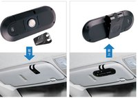 Wholesale DHL Wireless Bluetooth Handsfree Speakerphone Car Kit With Car Charger Bluetooth Hands free Kit