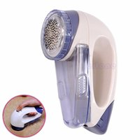 Wholesale Portable Electric Sweater Clothes Lint Pill Fluff Remover Fabrics Fuzz Shaver order lt no track