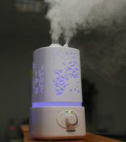 led light diffuser - Aromatherapy Diffuser air Humidifier LED Night Light With Carve Design Ultrasonic humidifier air Aroma Diffuser mist maker