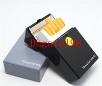 Wholesale SharpStone Cigarette Holder for Cigarette smoking Tobacco Storage Case Gift Herb Plastic sharpstone Cigar Cigarette Box