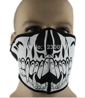 adult mouth guard - new party skull small mouth guard wind and dust protection mask face CS cold ski caps riding