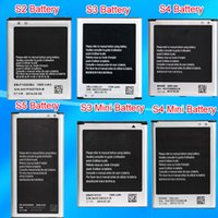 Wholesale S5 S4 S4 Mini S3 S3 Mini S2 Mobile Phone Replacement Battery For Samsung Galaxy I9600 I9500 I9190 I9300 I8190 I9100 Akku Accu