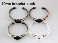 beautiful blank - mm beautiful cabochon bracelet settings bracelet blanks bracelet base fit mm glass cabochons BR00501