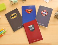 Wholesale The Avengers Alliance Notebook Note Book Notes Notepads Fashion as a Christmas present L0393A