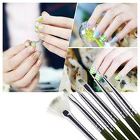 Wholesale Professional Nail Art Design ainting Tool Pen Polish Brush Set Kit DIY Nail Tools H11251