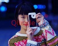 Wholesale 1000PCS HHA343 LED Selfie Night Using Light Multi Fuction Camera Flash Light Super Mini External Flash Light Fisheye Lens for iphone s
