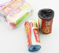 Plastic plastic trash bags - New material colored Garbage bags trash bag roll cm dedicated loading trash bags Cleaning products LJD3