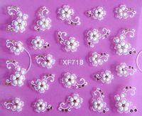 best white sheets - sheet Best DIY Nail Beauty Materials D White Flower Nail Sticker art decorations manicure adesivo de XF718