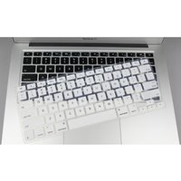 Wholesale 50pcs Silicone Keyboard Cover protector Skin for Apple Macbook air Pro MAC inch inch