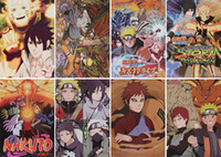 naruto - Anime Naruto Posters High Quality Posters Wall Sticker Room Decoration set X29CM High Quality