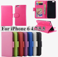 For Apple iPhone photo book - Top Quality Stand Wallet Book Style Flip PU Leather Case Photo Frame Phone Bag Cover With Card Holder For iPhone Plus inch