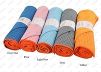 Wholesale non slip yoga mat towels hot yoga towel mats mat for fitness yoga mat bags pilates yoga blankets high quality