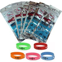 Cheap 100 PCS Free Shipping, Mosquito Killer Repeller Citronella Mosquito Repellent Bracelets Mosquito Hand Strap Insect Bracelet Band 0419xx