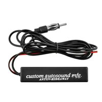 amplified stereo - 77 quot power Electronic Stereo Radio AM FM Hidden Amplified Antenna Universal For Car For Truck Vehicle Boat SUV fm radio