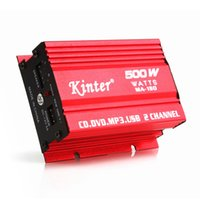 amp for car subwoofer - DC9 V CH Mini Hi Fi Stereo Audio Amplifier Amp Subwoofer For Car Motorcycle CEC_836