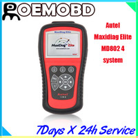 Wholesale Autel Maxidiag Elite MD802 system Original md802 car scan tool
