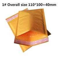 Wholesale Mini Bubble Mailers Padded Envelopes Bags KRAFT BUBBLE MAILERS MAILING ENVELOPE BAG x100mm quot X4 quot