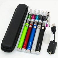 Cheap Top quality E Cigarette EVOD twist Kit evod twist 650mah 900mah 1100mah batery with mini protank mini protank 3 daul coil Atomizer E cig DHL