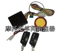 Wholesale 2015 One way Motorcycle alarm system Dual alarm system remote control start function motorcycle Engine start function