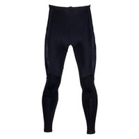 Wholesale Sahoo Men Winter D Sponge Pad Cycling Pants Tights Windproof Warm Riding Pants Elastic Polyester Fleece Lining Zipper Design