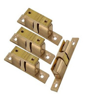 Wholesale Magnetic Brass Furniture Door Push Open Catch Latch Cabinet Hardware Cupboard Fittings Pack of