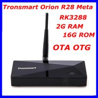 Wholesale RK3288 Quad Core Tronsmart Orion R28 Meta Android TV Box GHz g RAM g ROM Android Support OTA OTG K G G Wifi Bluetooth