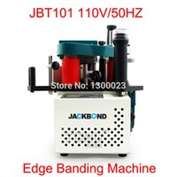 Wholesale V HZ JBT101 Portable edge banding machine with speed control model Fit for plate straight and arc irregular