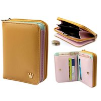 Wholesale 2014 New Design Womens Card Holder Wallet PU Leather Clutch Bag Lady Coin Purse WB021