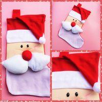 Wholesale Sock Wholesal - Wholesal Christmas Gift Candy Socks Christmas Tree Decoration Santa Lovely Sockings Large Decals Gift Bags Socks 10pcs lot