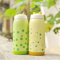 stainless steel double wall bottle - Just Life Frog Design Double Wall Vacuum Thermos Stainless Steel Bottle oz