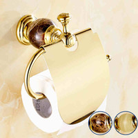 Brass bath paper holder - bathroom Bathroom Hardware Bath paper holder with gold color finishing brand new Toilet Paper Holders