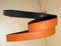Belts big red belt - 38 mm reversible togo leather strap belt mm big Silver Glod buckle many colors