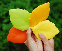 acid candy - Fashion Necessary Business Travel Mini Maple Leaf shaped Candy Colors Portable Silicone Collapsible Wash Cup Collapsible Wash Cup Toothbrush