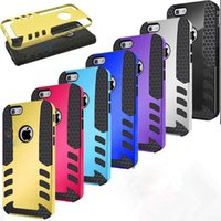 Leather PU+PC apple rocket - Rocket in Hybrid Rugged Case Cover For Iphone plus Samsung Galaxy S6 edge s5 Note