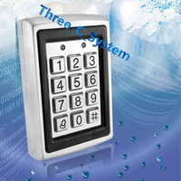Wholesale 500 Users Metal RF ID Khz Access Keypad Wiegand26 Wiegand34 Door Gate Security Access Controller