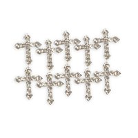 art zinc - Zinc Alloy Cross Rhinestones Glitters for D Nail Art Tips Decoration Perfect Choice For Your Girlfriend Or Wife L3FE