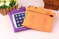 Wholesale OK CROWN Kids Light Weight anti Shock Handle EVA Case for iPad mini