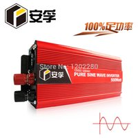Cheap anfo 500w Pure Sine Wave Power Inverter 12V DC to AC 220V 1000w peak power for Household appliances free shipping